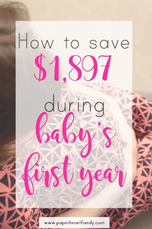 Having a baby? Saving money with baby is possible! Get money saving baby tips for baby on a budget.