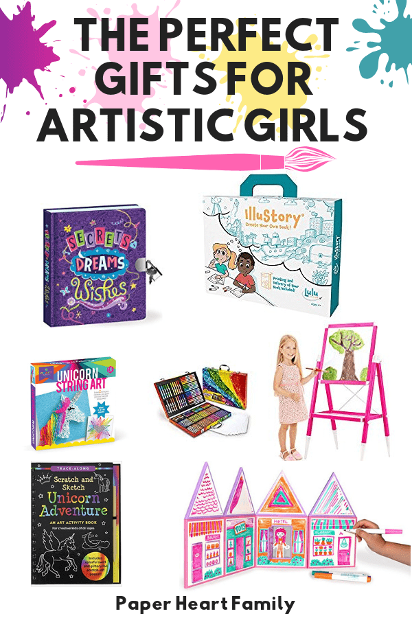 Gifts for creative girls that like to build, create, and pretend.