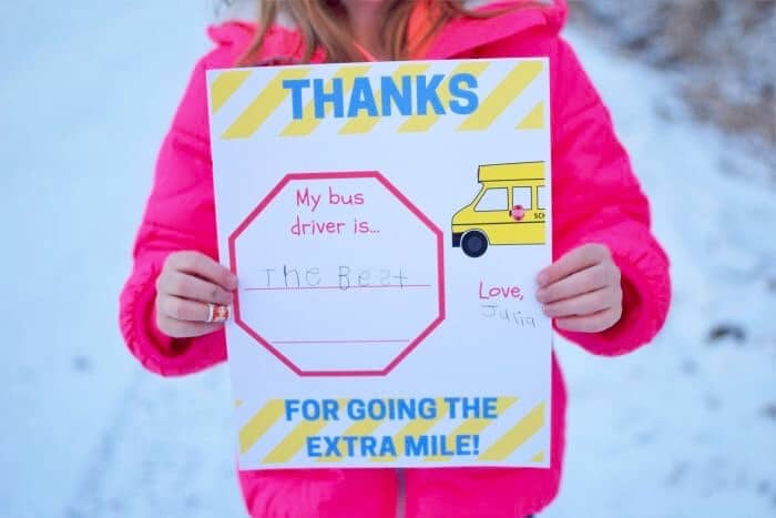 bus driver appreciation printable