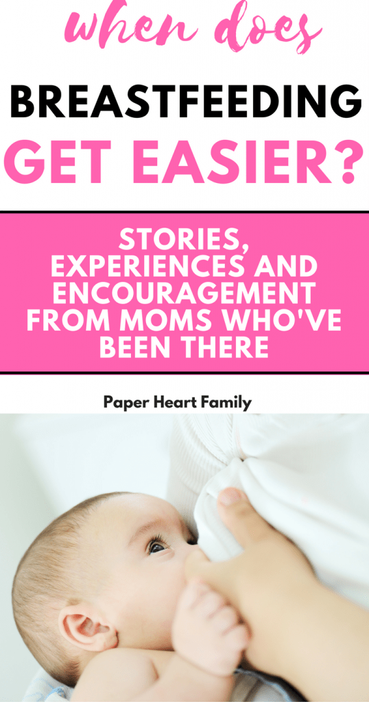 When Does Breastfeeding Get Easier, Faster And Less Painful