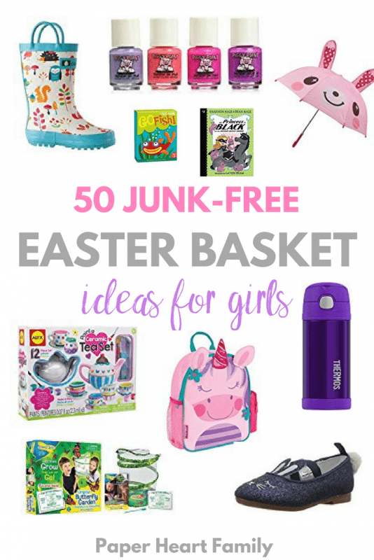 Easter basket stuffers and fillers