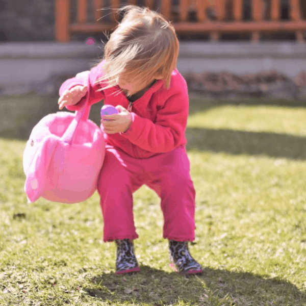 An Easter Egg Hunt for Toddlers that will Keep Them Busy for a LONG Time