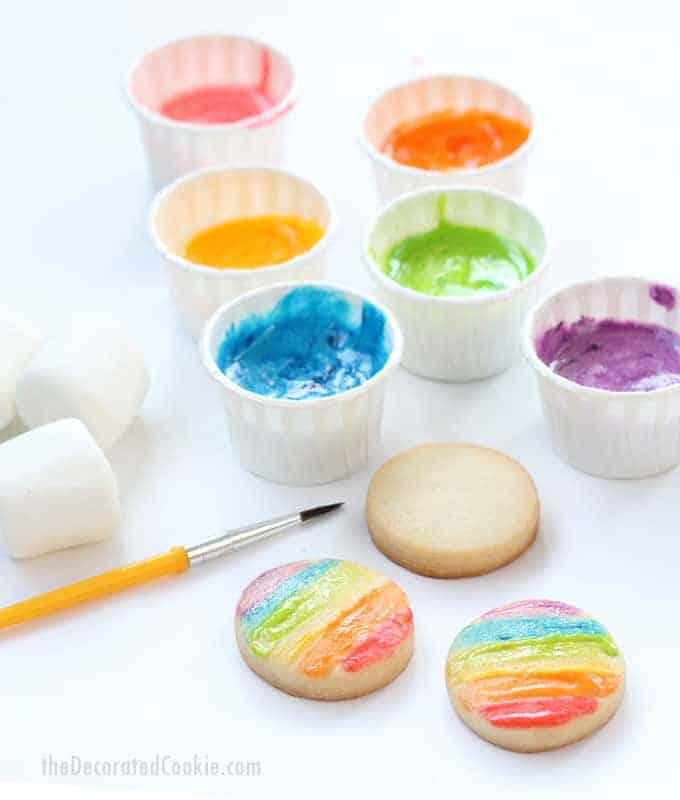 Toddler-friendly edible paint
