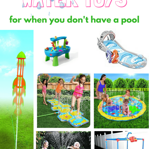 The Best Water Toys For Kids (That Will Make Them Forget They Want A Pool)