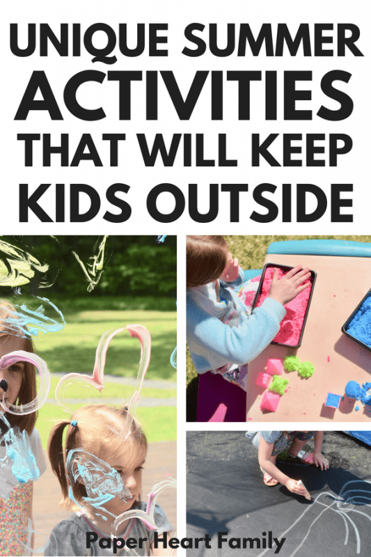 fun kids activities for summer