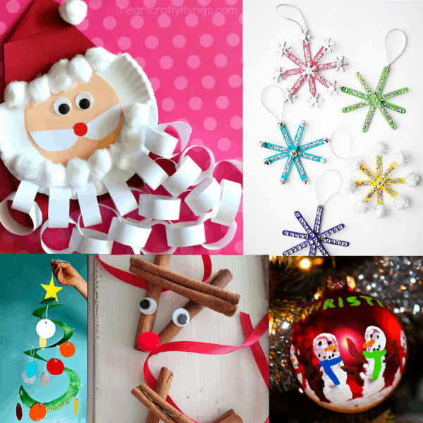 Easy Christmas Crafts For Kids (That Are Low Prep, Too!)