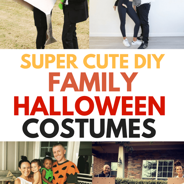 26 Creative Family Halloween Costume Ideas That You Haven't Seen Yet