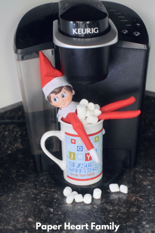 Would you like some marshmallows in your hot chocolate? Or maybe an elf on the shelf?