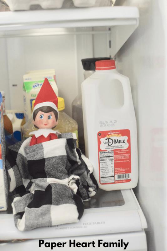 Brrrr! Smart elves bundle up when it's cold!