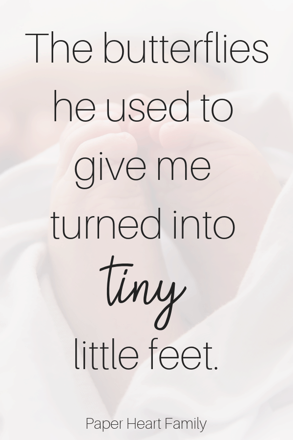 Sweet baby feet quotes, perfect for baby footprint art.