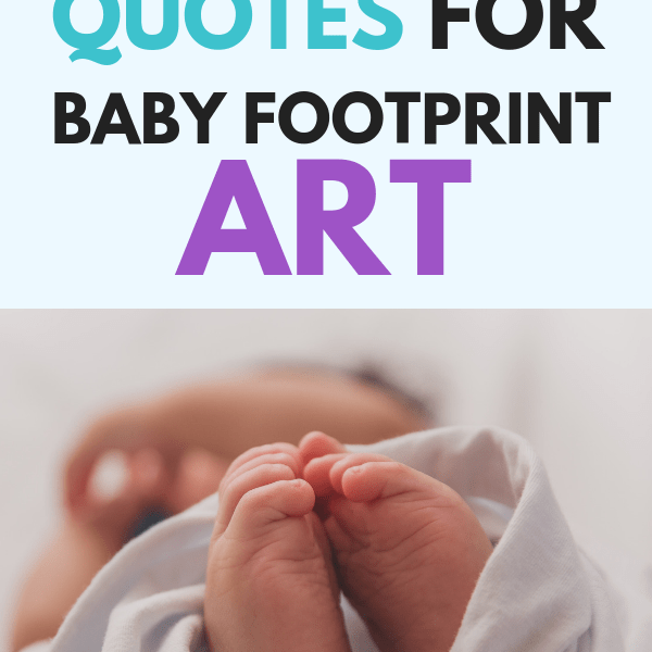 Baby Footprint Quotes And Art For Beautiful And Unique Keepsakes
