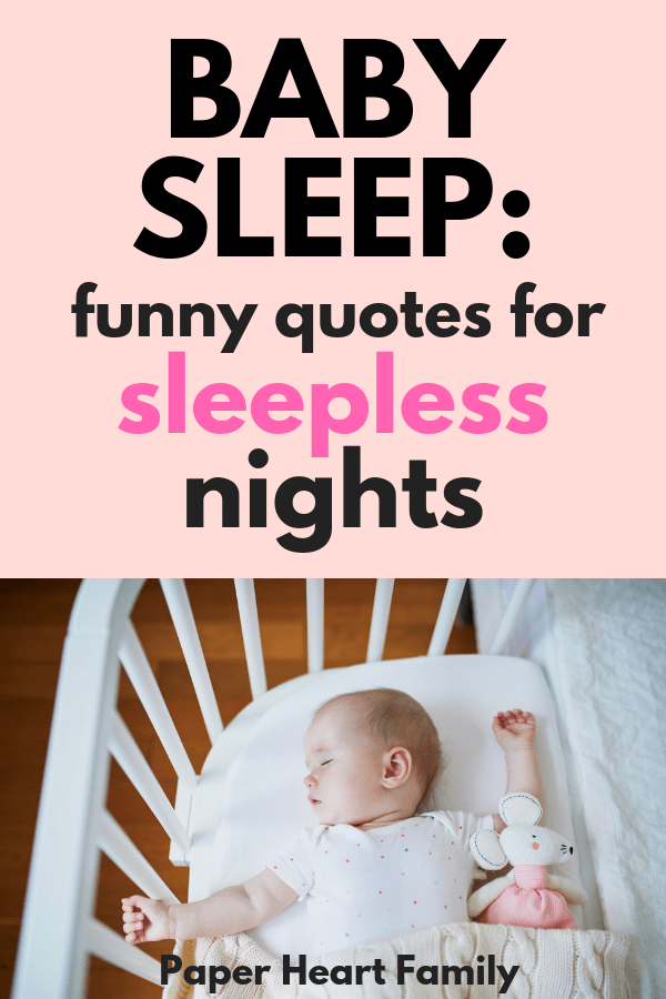 Baby Sleep Quotes Sweet And Funny Quotes About Your Baby S Slumber