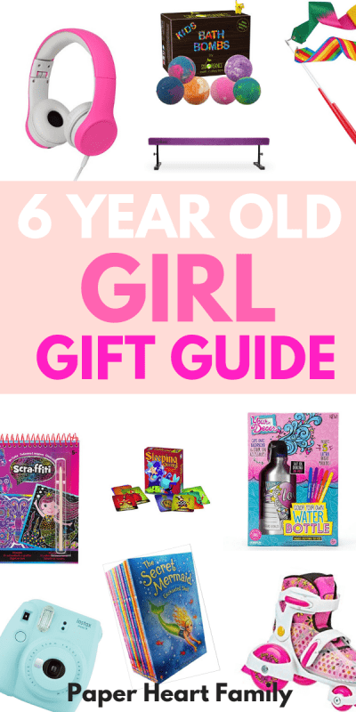 Gifts for 6 year old girls that are sure to please!