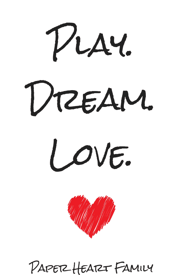 Nursery quote: Play. Dream. Love
