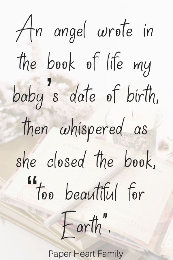 Quotes about losing a baby to miscarriage for moms