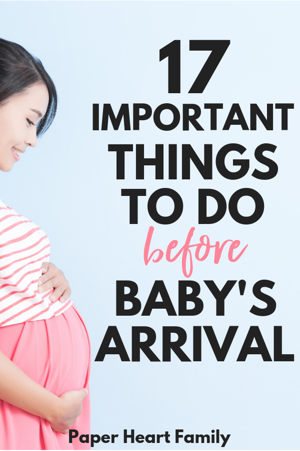 Don't forget any of the important things that you need to do before baby arrives with this third trimester checklist.