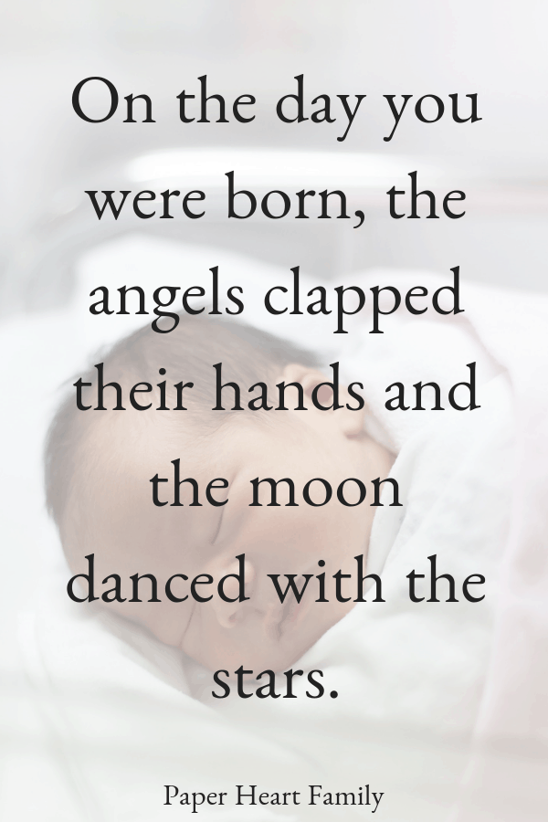 Get welcomes quotes for newborn babies and quotes about the birth of your baby.
