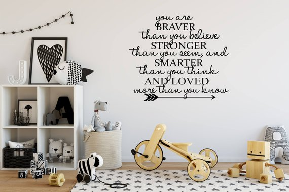62 Baby Nursery Wall Quotes That Are Perfect For Your Baby's Room