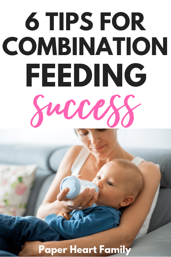 The do's and don'ts of combination feeding formula and breast milk.