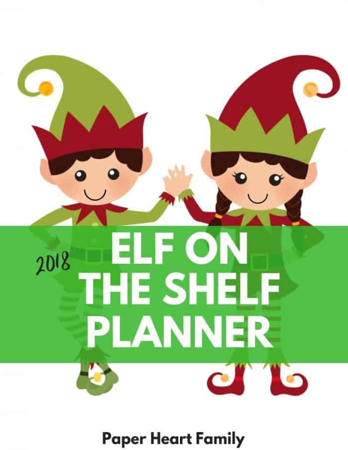 Elf on the Shelf Calendar and Planner- 18 printable pages of elf organization and fun!