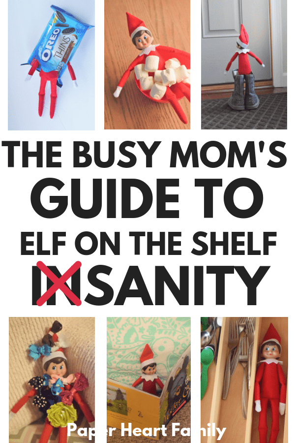 The best Elf on the Shelf ideas from start to finish, including arrival and goodbye letters, elf names, easy and funny elf on the shelf ideas, and ideas for toddlers, too!