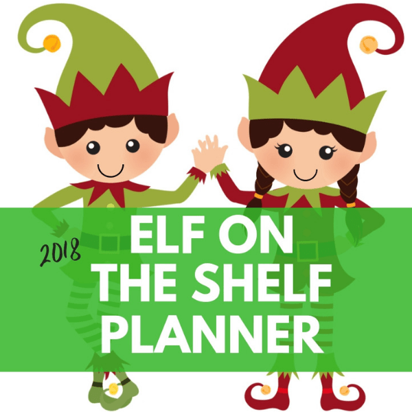 2019 Elf On The Shelf Calendar And Planner