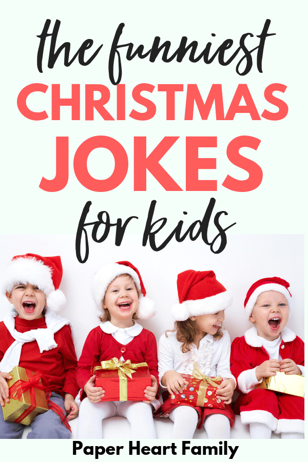 Make your kids laugh this holiday season with these funny Christmas jokes for kids.