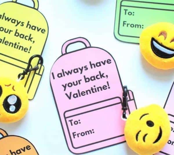 The TRENDIEST Valentine Card Printables For Kids