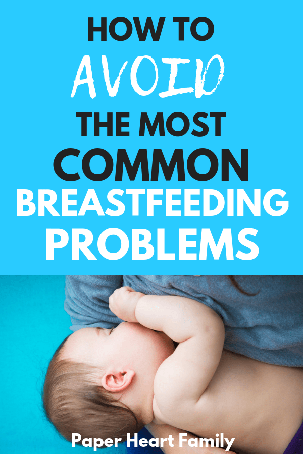 Discover what you can do when you are faced with any of these breastfeeding problems.