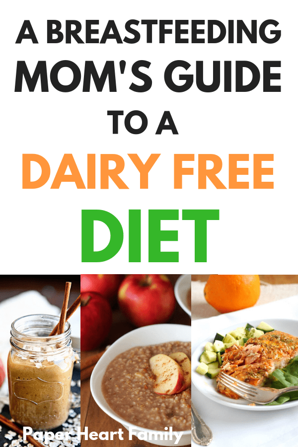 Helpful tips on surviving a dairy free breastfeeding diet.