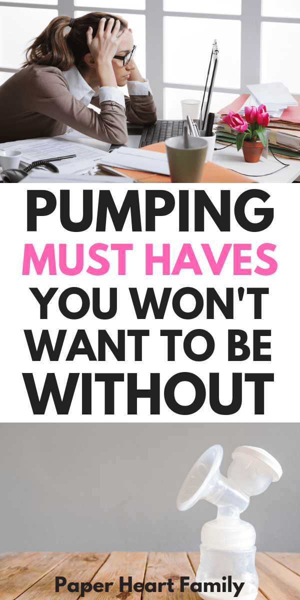 Think all you need is a breast pump? Think again! Be prepared for pumping at work with this list of breast pump bag essentials.