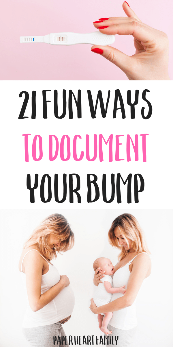 The best ideas for documenting pregnancy, all in one spot!