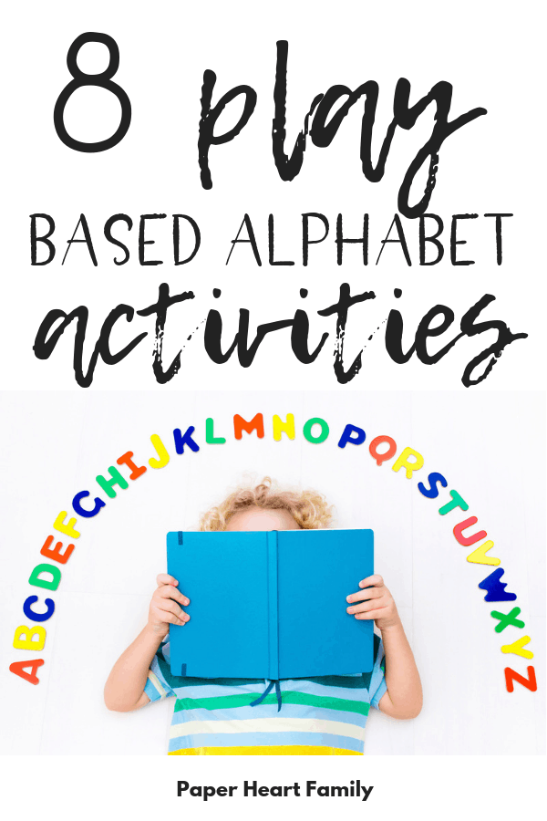 The best way to teach letter recognition is through play! Find out how to make learning easy on you and FUN for your preschooler.
