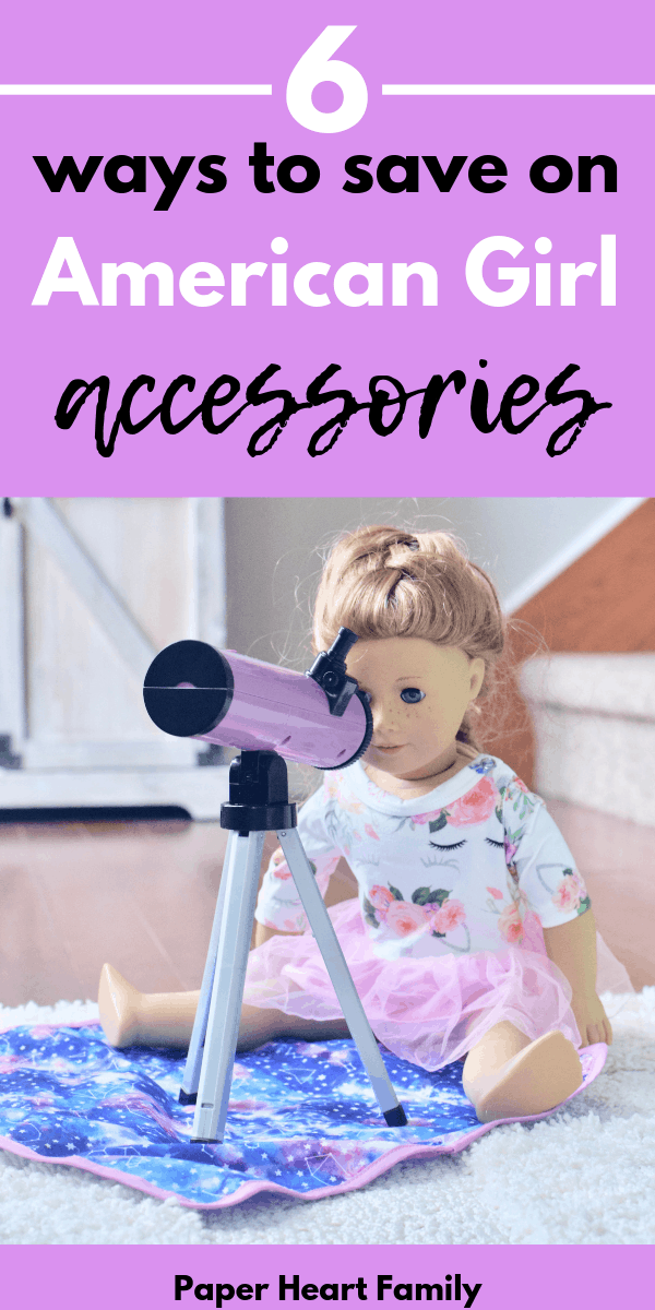 How to buy American Girl doll accessories for less
