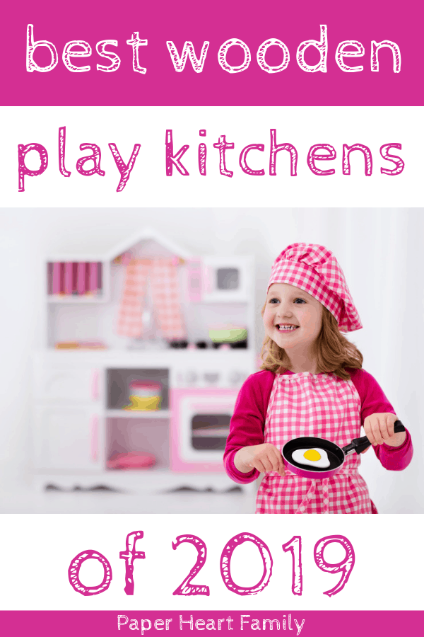 Best wooden play kitchens for toddler and kids