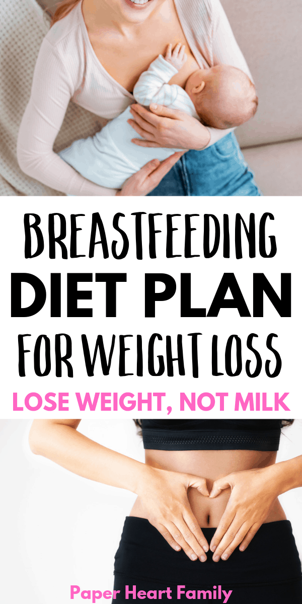 Lose weight without affecting your milk supply with this breastfeeding diet plan.