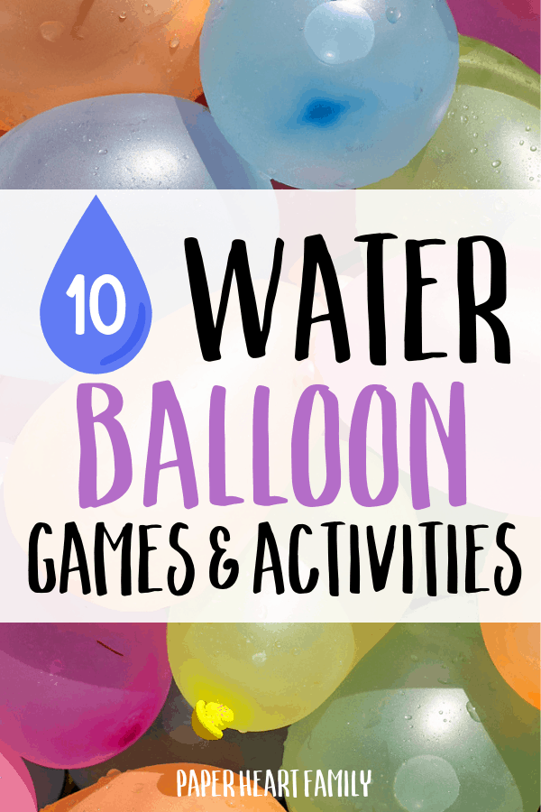 Fun and unique water balloon activities for kids