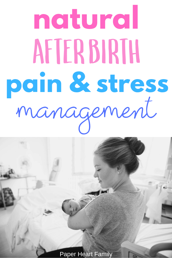 Natural postpartum pain managagement tips for new moms