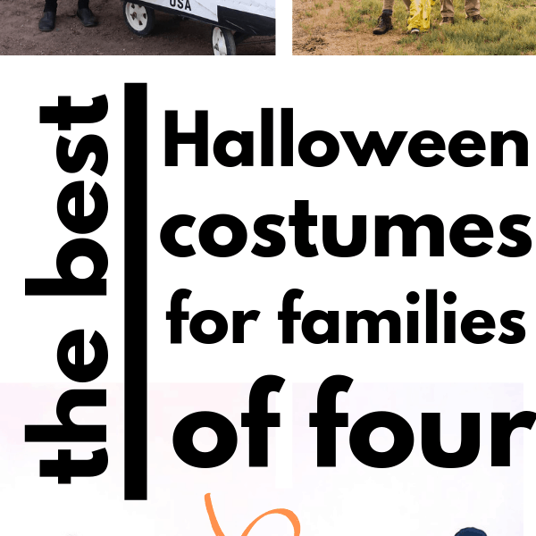 17 Must-See Family Halloween Costume Ideas For Four