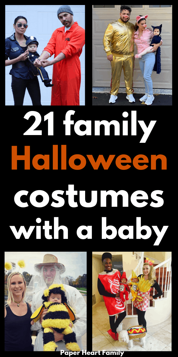 Halloween costume ideas for families with a baby