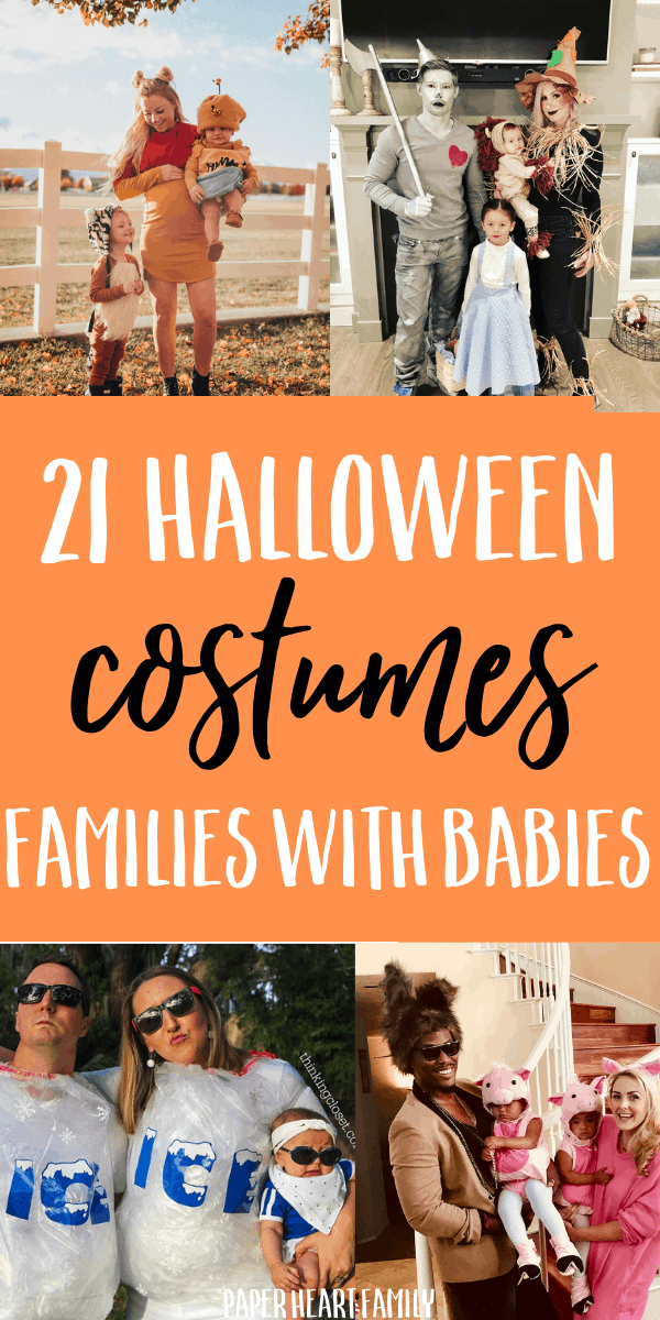 Mom, dad and baby halloween costume ideas
