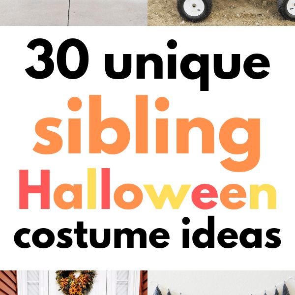 30 Incredible Sibling Halloween Costume Ideas