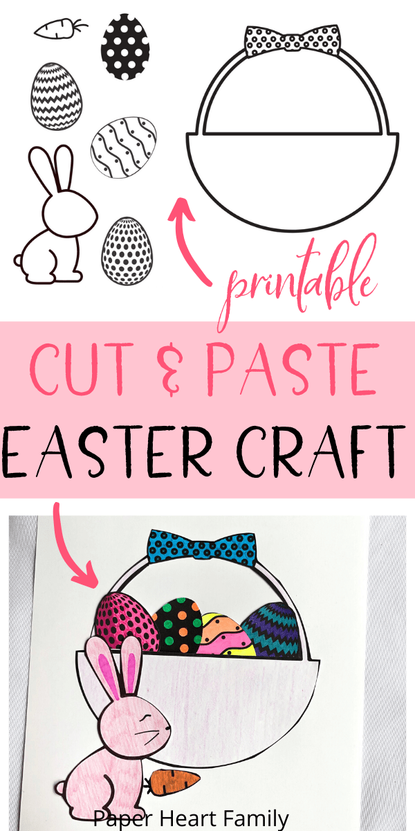 Super fun and simple Easter craft for toddlers and kids (adults, too!)