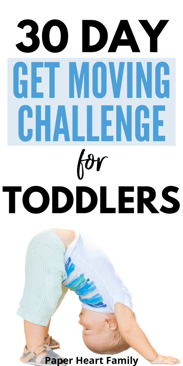 Fun gross motor movement activities and challenge for toddlers
