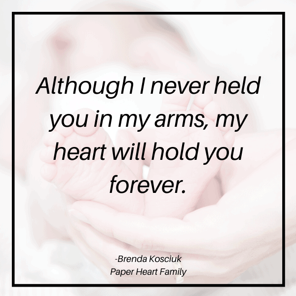 Miscarried baby quotes