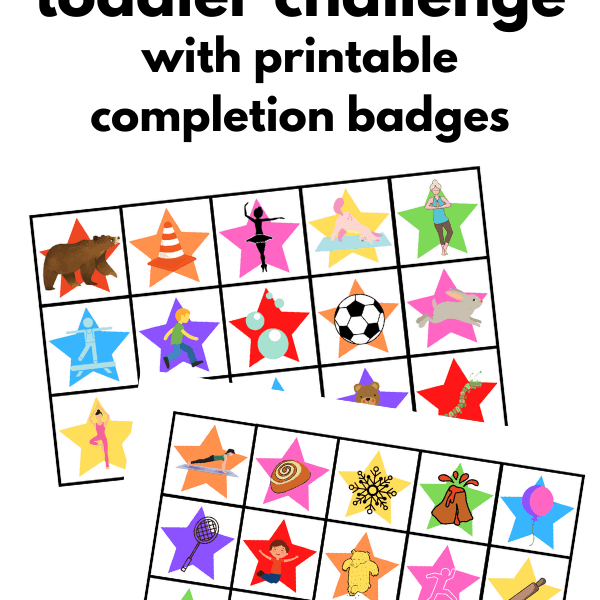 30 Day Physical Activity Challenge For Toddlers
