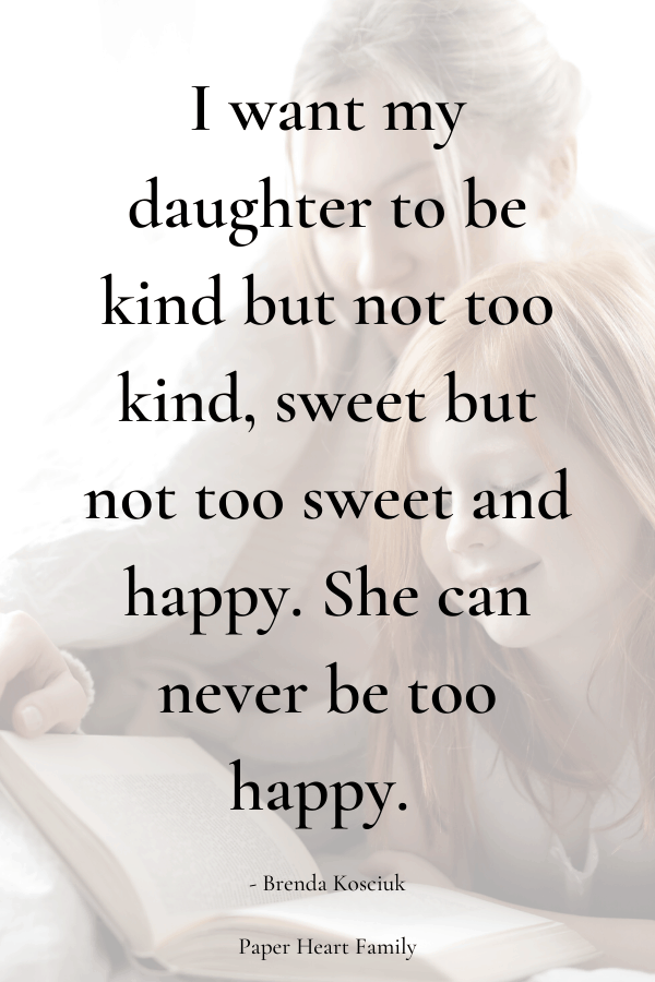 Sweet quotes for your daughter