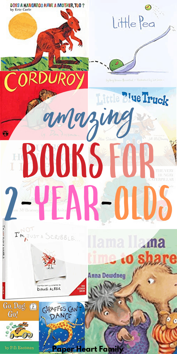 Funny and sweet books for 2-year-olds