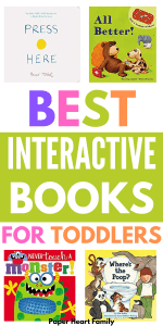 Best interactive books for 2-year-olds