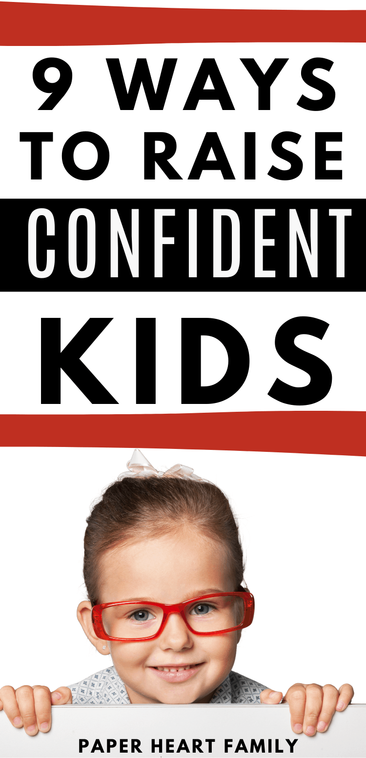 What to do in order to build self confidence and self esteem in a child